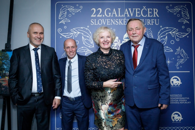 Najlepší rovinový tréner – František Holčák, najlepšia rovinová stajňa na SR za rok 2019 – Meridian