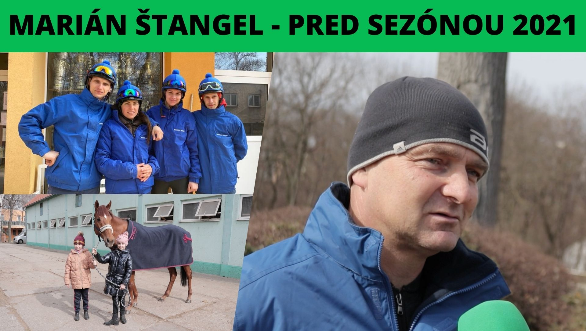 Marián Štangel: Novinky zo stajní slovenských trénerov